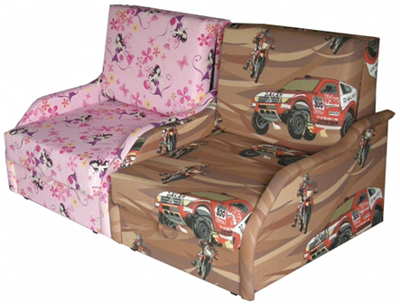 fotel rozkładany Miś